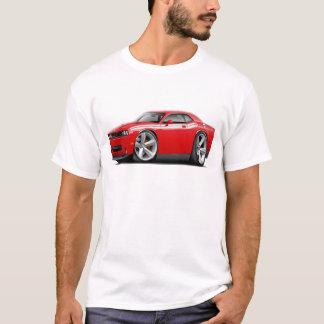 2009-11 Challenger RT Red-White Car T-Shirt