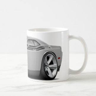 2009-11 Challenger RT Silver-Black Car Mug