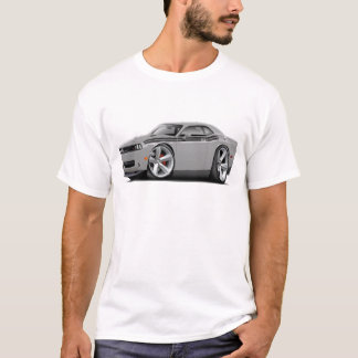 2009-11 Challenger RT Silver-Black Car T-Shirt