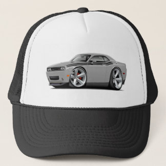 2009-11 Challenger RT Silver-Black Car Trucker Hat