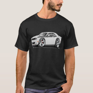 2009-11 Challenger RT White-Black Car T-Shirt