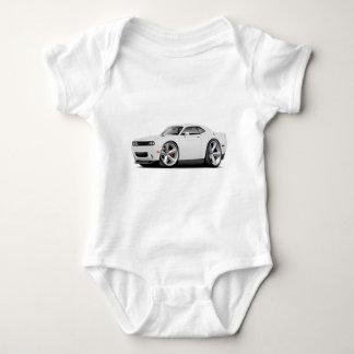 2009-11 Challenger RT White Car Baby Bodysuit