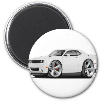 2009-11 Challenger RT White Car Magnet