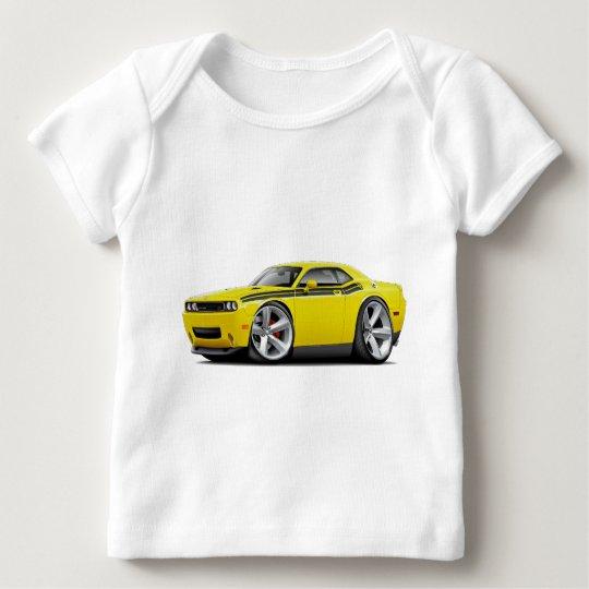 2009-11 Challenger RT Yellow-Black Car Baby T-Shirt