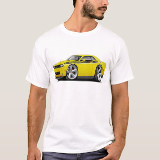 2009-11 Challenger RT Yellow-Black Car T-Shirt