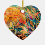 2009_1214_214612.jpg Double-Sided heart ceramic christmas ornament
