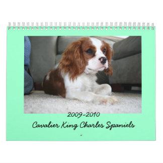 2009-2010 calendario arrogante del perro de aguas