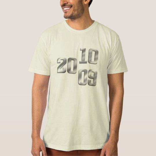 2009 2010 Silver New Year Gear T-Shirt