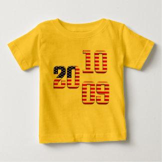 2009 2010 US flag stars and stripes old glory flag T-shirt