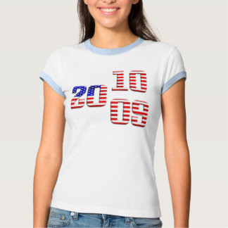 2009 2010 US flag stars and stripes old glory flag T-shirts