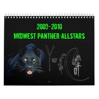 2009-2010 Year of the Cat Calendar