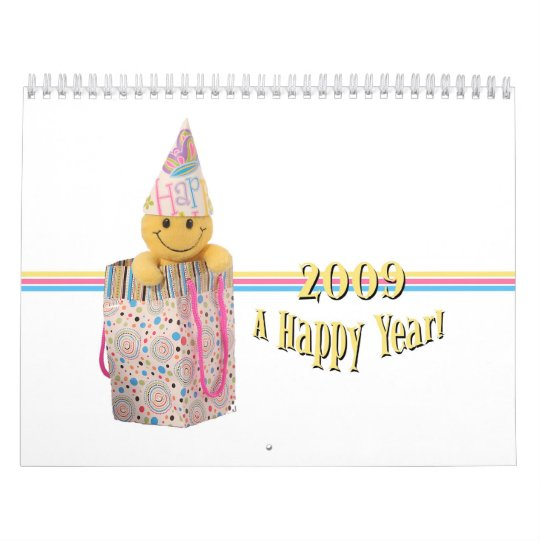 2009 A Happy Year Calendar