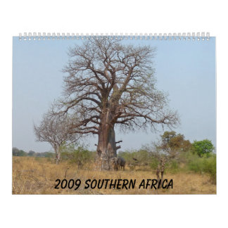 2009 África meridional Calendarios