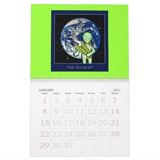 2009 aLiEn Calendar