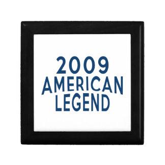 2009 American Legend Birthday Designs Jewelry Box