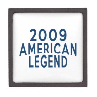 2009 American Legend Birthday Designs Keepsake Box