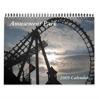 2009 Amusement Park Calendar