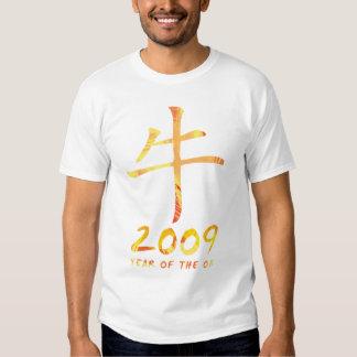 2009 años de camiseta de Todder del símbolo del Remeras