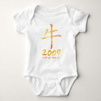2009 años de enredadera del niño del símbolo del body para bebé