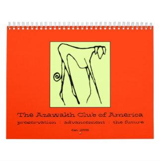 2009 archivales el calendario del club de Azawakh