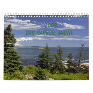 2009 Bar Harbor, ME Calendar
