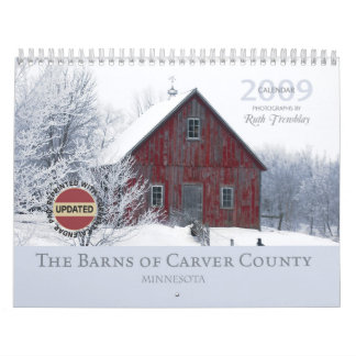 2009 Barns of Carver County Calendar 2012 Edition