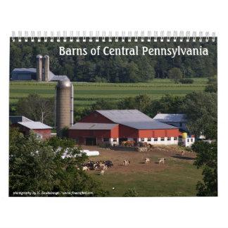 2009 -Barns of Central Pennsylvania Wall Calendar