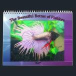 "2009 Betta fish calendar<br><div class=""desc"">A beautiful collectors item featuring gorgeous betta fish from the members of Fishlore.com</div>"