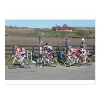 2009 Bike Race California Postcard