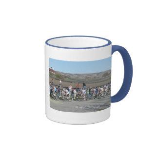 2009 Bike Race California Ringer Mug