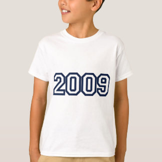2009 birth year t-shirt