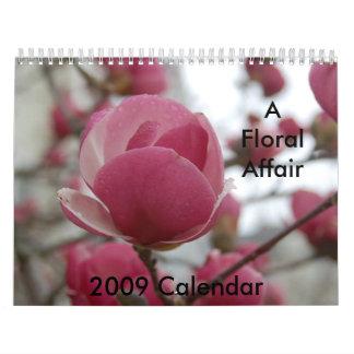 2009 Calendar - A Floral Affair