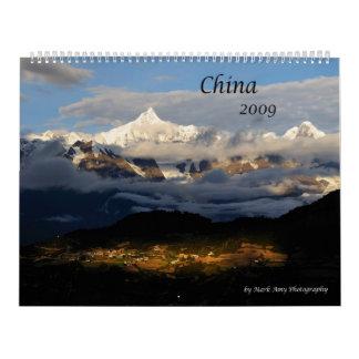2009 Calendar - Images of China (Customizable)