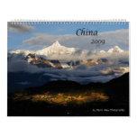 2009 calendario - imágenes de China