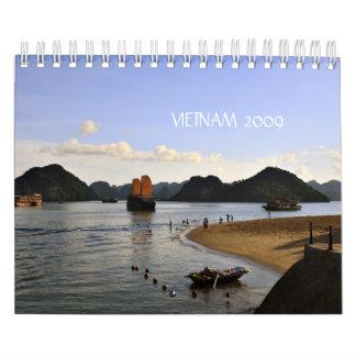 """2009 calendario - pequeño 7"""" x 11"""""""