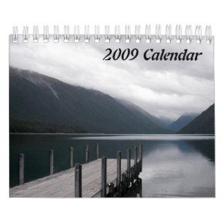 2009 calendario - viajes