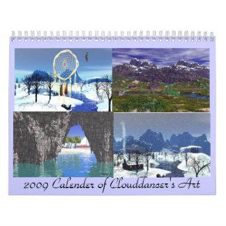 2009 Calender of Art Calendar