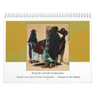 2009 caras archivales de AZCA del calendario del S