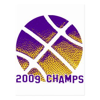 2009 Champs Postcard