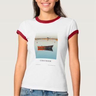 2009 Chatham, camiseta de las señoras de Cape Cod