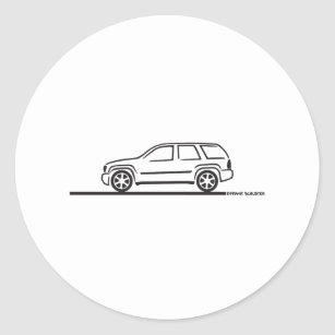 chevy ss stickers zazzle 1974 Chevy Nova 2009 chevy trailblazer ss classic round sticker