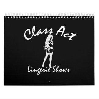 2009 Class Act Calendar