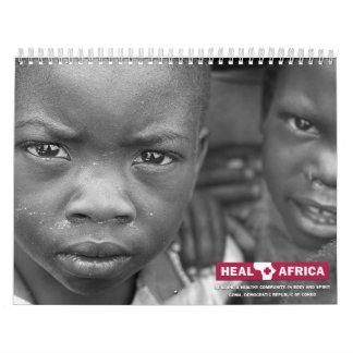 2009 CURE el calendario de África