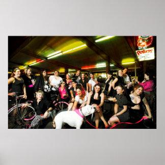 2009 Dagger Dolls Team Photo Poster