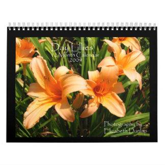 2009 Day Lily Calendar