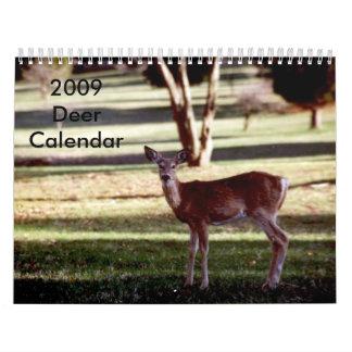 2009 Deer Calendar