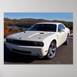 2009 Dodge Challenger R/T Poster
