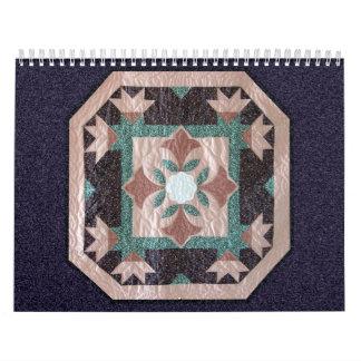 2009 el calendario del flor de Lotus - 9 meses