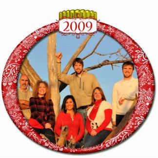 2009 Family Photo Christmas Ornament