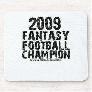 2009 FANTASY FOOTBALL CHAMPION MOUSEPAD